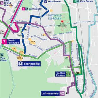 Ville De Saint Etienne Du Rouvray Site Officiel Bus