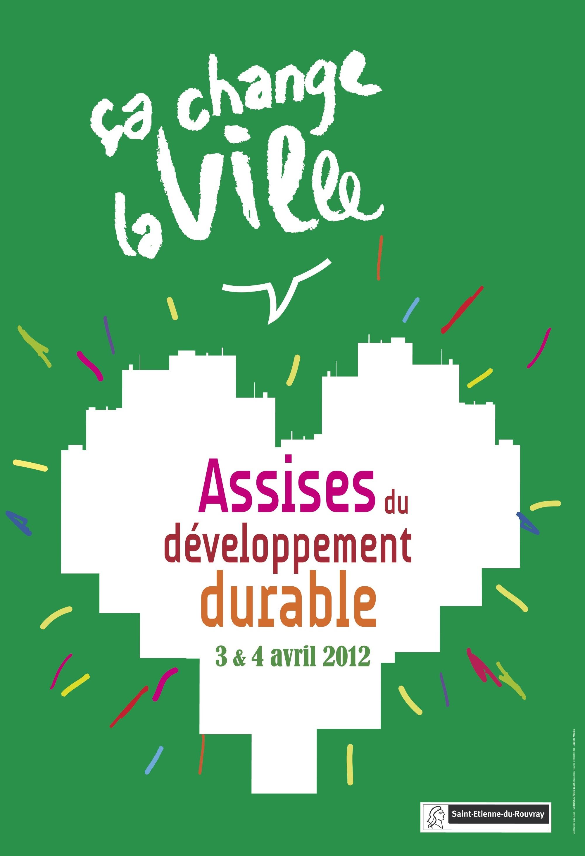 l'affiche des Assises du développement durable