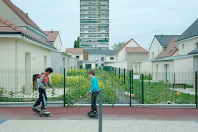 les nouveaux logements du quartier de La Houssière