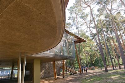 la maison des forets est le point de départ de multiples activités nature