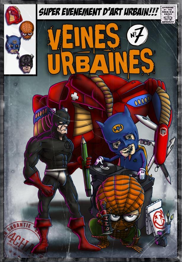 le visuel de Veines urbaines 2015