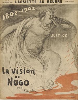 La vision de Hugo par Steinlen