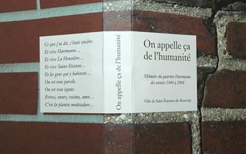 """la couverture du livre """"On appelle ça de l'humanité"""""""