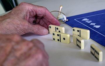 partie de dominos