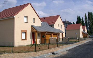 Constructions dans le quartier des Cateliers