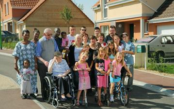 les habitants de Thorez-Langevin à l'issue du renouvellement de leur quartier