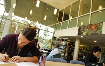 séance de travail dans une grande école